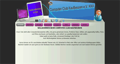 Preview of computerclub-kaufbeuren.de