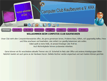 Tablet Preview of computerclub-kaufbeuren.de